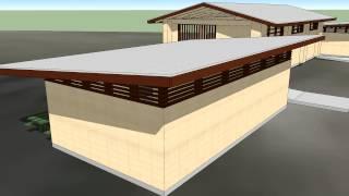 Hanalei Pavilion In Sketchup