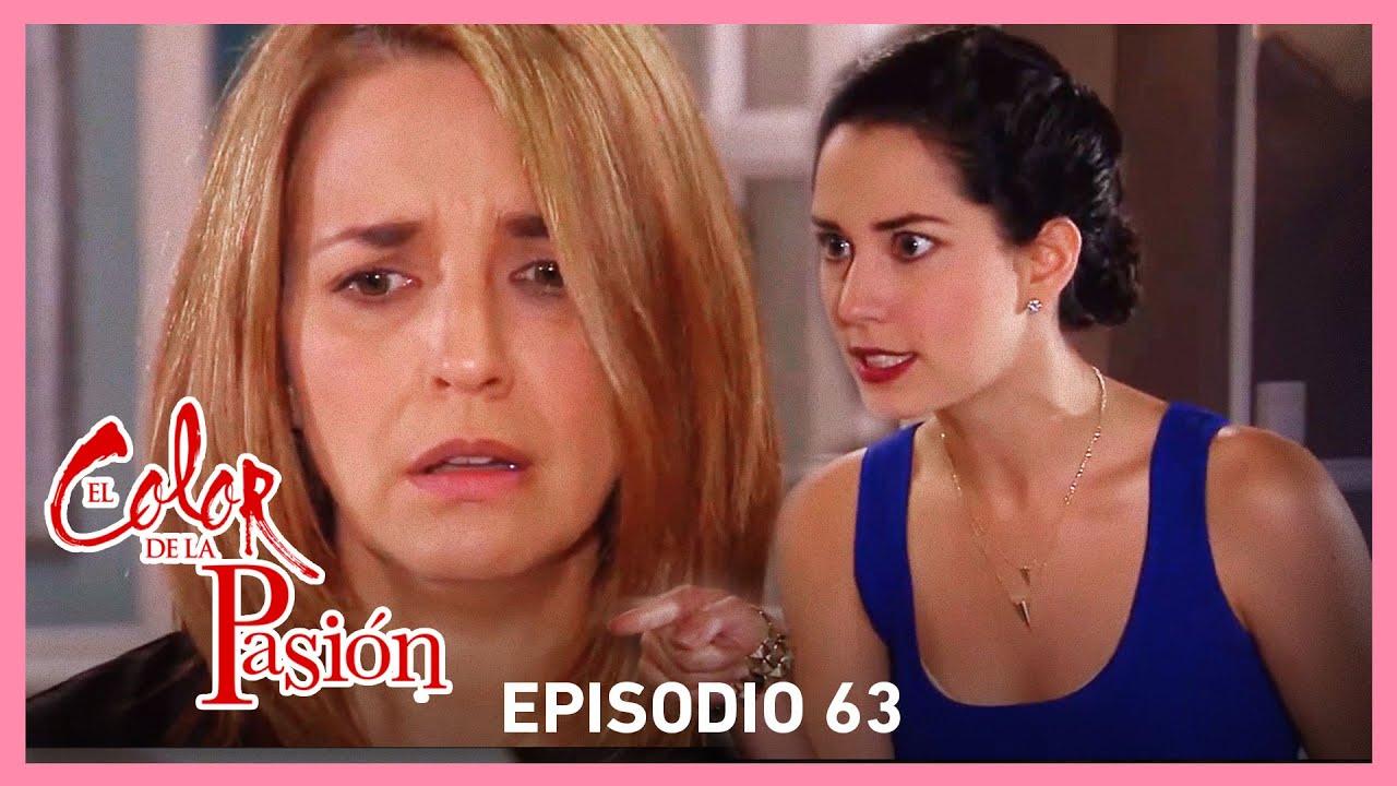 Download El color de la pasión: Nora enloquece y ataca a Rebeca | C-63 | Tlnovelas