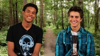 Disney Stars Billy Unger & Trevor Jackson On Ask Somebody