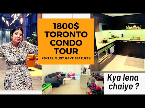What $1800 Get You In Downtown Toronto + Newcomer Renting Tips   APARTMENT TOUR 2020 Canada🇨🇦