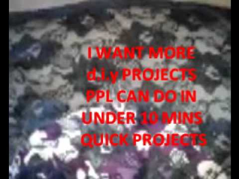 D.I.Y Under 10 Min Project - Lace Back Long Sleeve