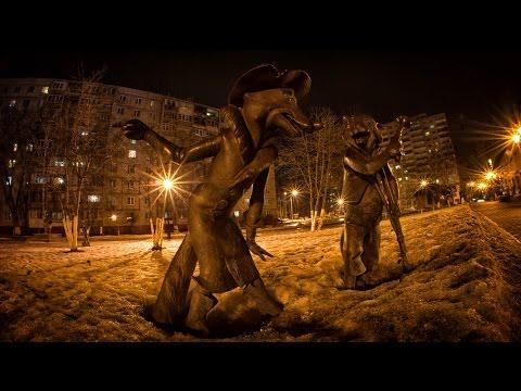 Фото прогулка по городу Раменское, Московской области.