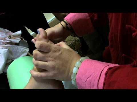 Точечный массаж тела (акупрессура) в клинике Тибет