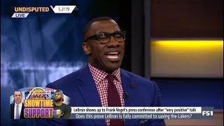 UNDISPUTED | Shannon DEBATE: Does this prove LeBron is fully committed to saving the Lakers?