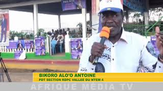 LANCEMENT CAMPAGNE PRESIDENTIELLE  KYE OSSI 2018