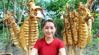 Yummy Squid Grilling Chili Sauce Homemade - Squid Grilling Recipe - Cooking With Sros