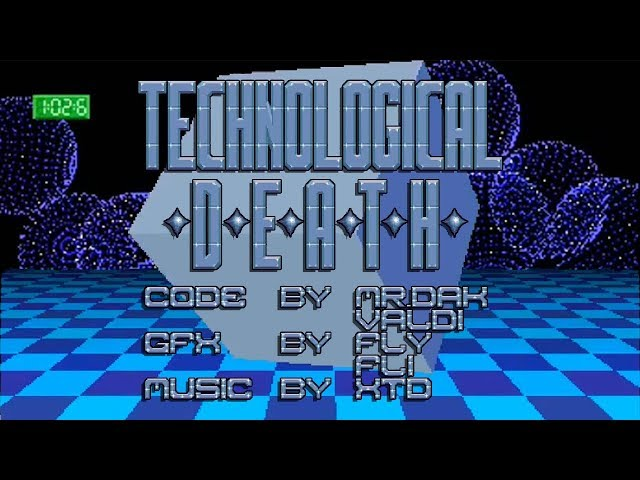 Technological Death + Hidden Part / Mad Elks | Amiga Demo 1993 50FPS HD