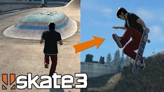 Skate 3: Hitting the MEGA PARK GLITCH Online!? (Multiplayer Spot Battles)