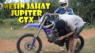 Download Video Garangnya bebek modif 125cc (jupiter grasstrack) MP3 3GP MP4