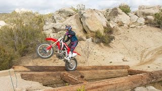As a brand-new model, Honda's CRF450RX boasts most of the features ...