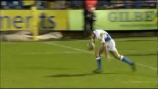 Matt Banahan falls over