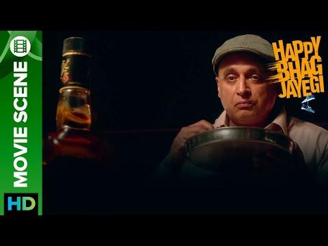Whisky Is Risky   Happy Bhag Jayegi   Movie Scene
