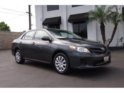 2012 Toyota Corolla LE For Sale $13,799 Hertz Car Sales 714-434-3721