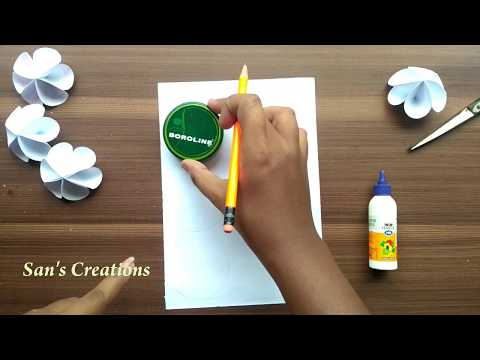 DIY Paper Flowers | Very Simple and Easy paper Crafts