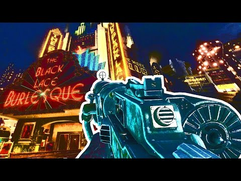 MG08 & WAW GUNS IN SHADOWS OF EVIL Call of Duty Black Ops 3 Zombies Gameplay Mod