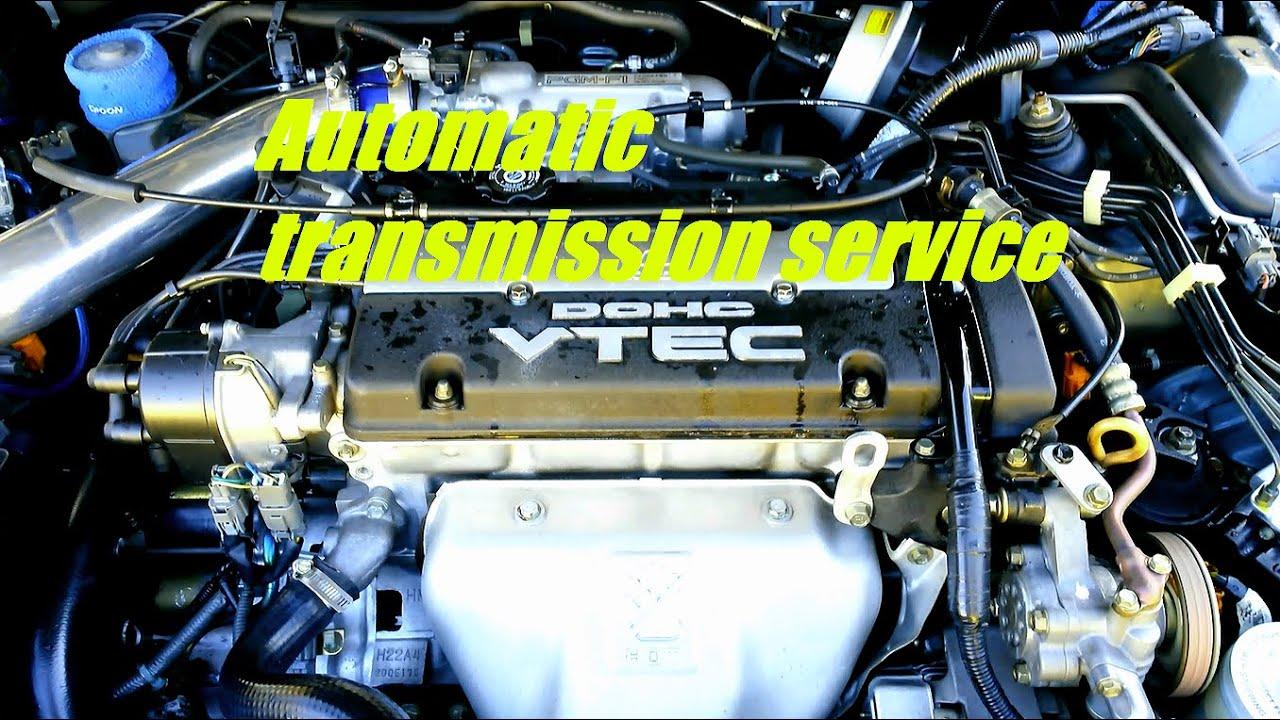 Honda Prelude Automatic Transmission Service