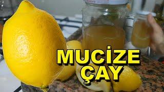 ZAYIFLAMA ÇAYI TARİFİ - Limon Kabuğu Çayı, Limon Kürü)