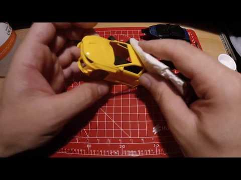DR!FT Lackier-Tutorial - Part 1 bis 4 - Demontage / Abkleben/ Lackieren/Decal und Fehler beseitigen