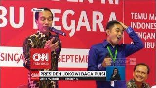 Video Ini Gaya Presiden Jokowi Saat Baca Puisi download MP3, 3GP, MP4, WEBM, AVI, FLV Maret 2018