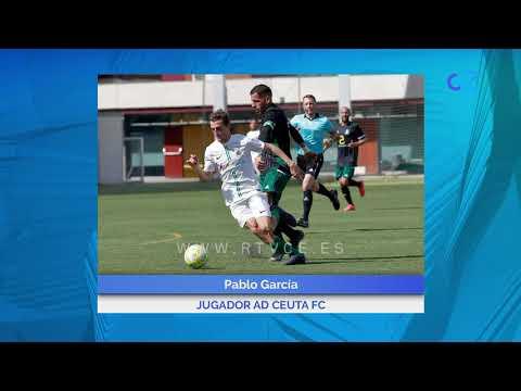 Pablo García asume la responsabilidad de ser la referencia ofensiva  de la AD Ceuta