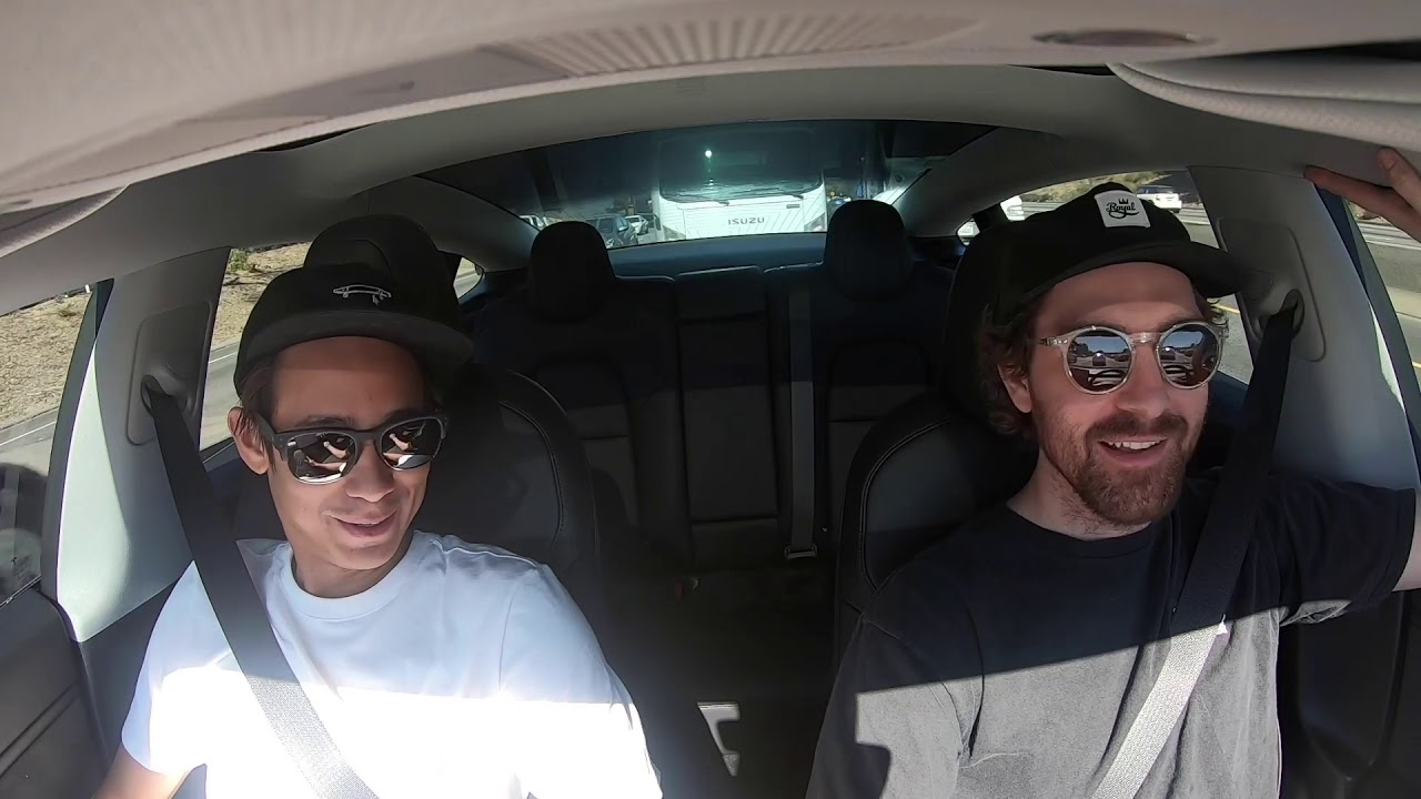Sean Malto and Mikemo carpool to Battle At The Berrics