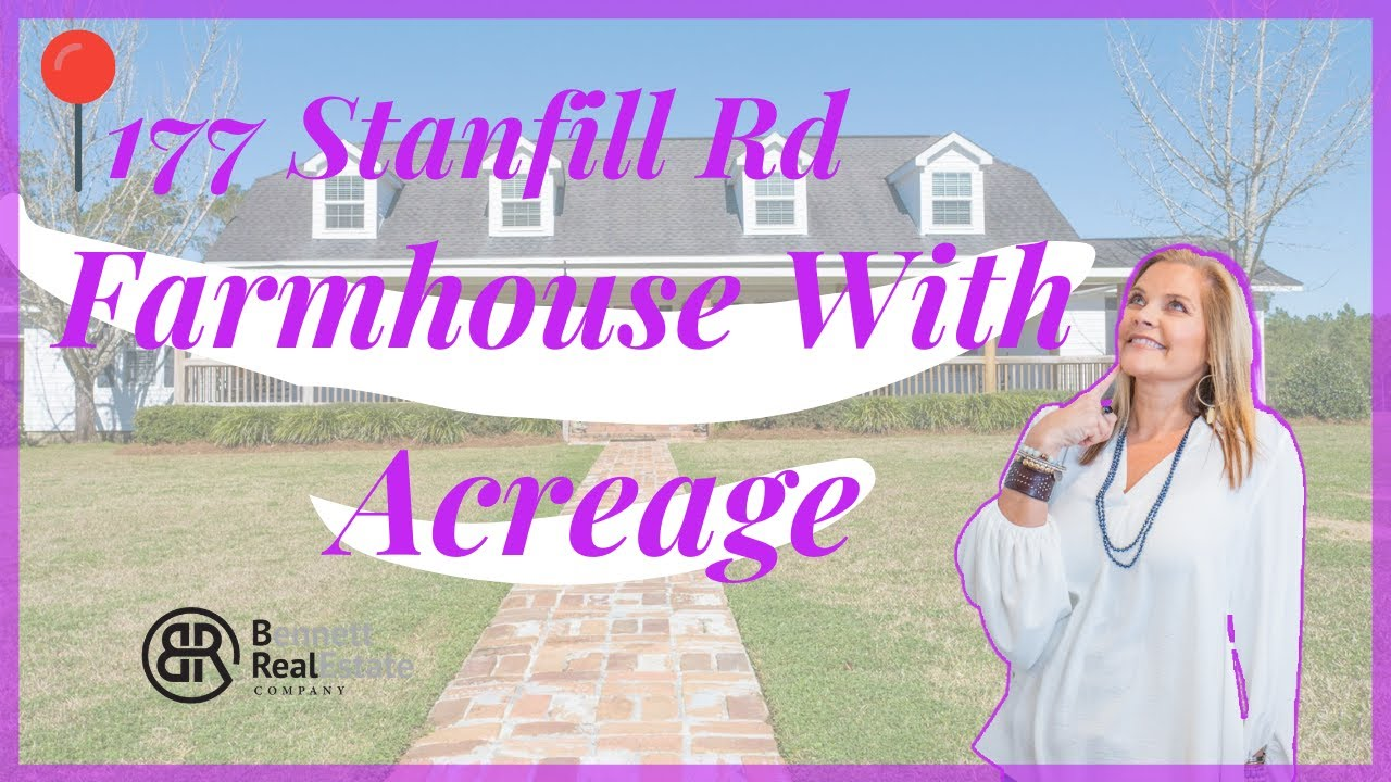 Cairo Home for Sale - Farmhouse Living With a Pond - 177 Stanfill Road