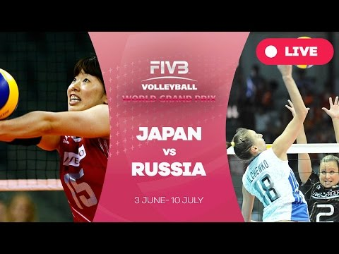 Japan v Russia - Group 1: 2016 FIVB Volleyball World Grand Prix