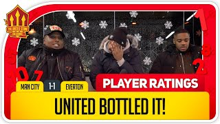 UNITED CHOKE AGAIN! Manchester United 1-1 Everton Player Ratings