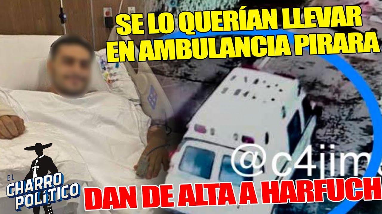 Intentan Robarse a Harfuch ¡Lo Dan De Alta;SE LO INTENTA LLEVAR EN AMBULANCIA FALSA DEL IMSS!