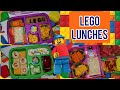 LEGO SCHOOL LUNCHES | BIRTHDAY SURPRISE!! | SOPHIA TURNS 8 | COLLAB W/BELLA BOO'S LUNCHES