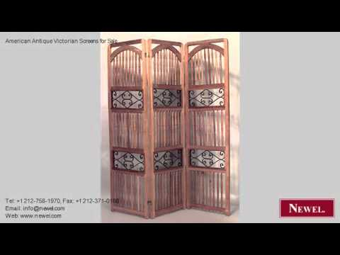 American Antique Victorian Screens for Sale