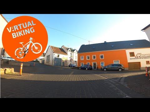 Virtual Biking: Town