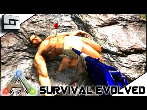 ARK: Survival Evolved - TRANQ DARTS and MACHINED SNIPER RIFLE!! S2E34 ( Gameplay )