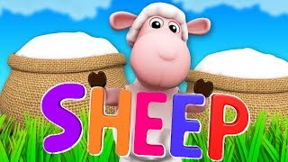 Sheep Was Her Name O | Junior Squad Cartoons | Nursery Rhymes For Children