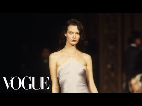 Shalom Harlow: Made for Haute Couture   TBT with Tim Blanks  Style.com