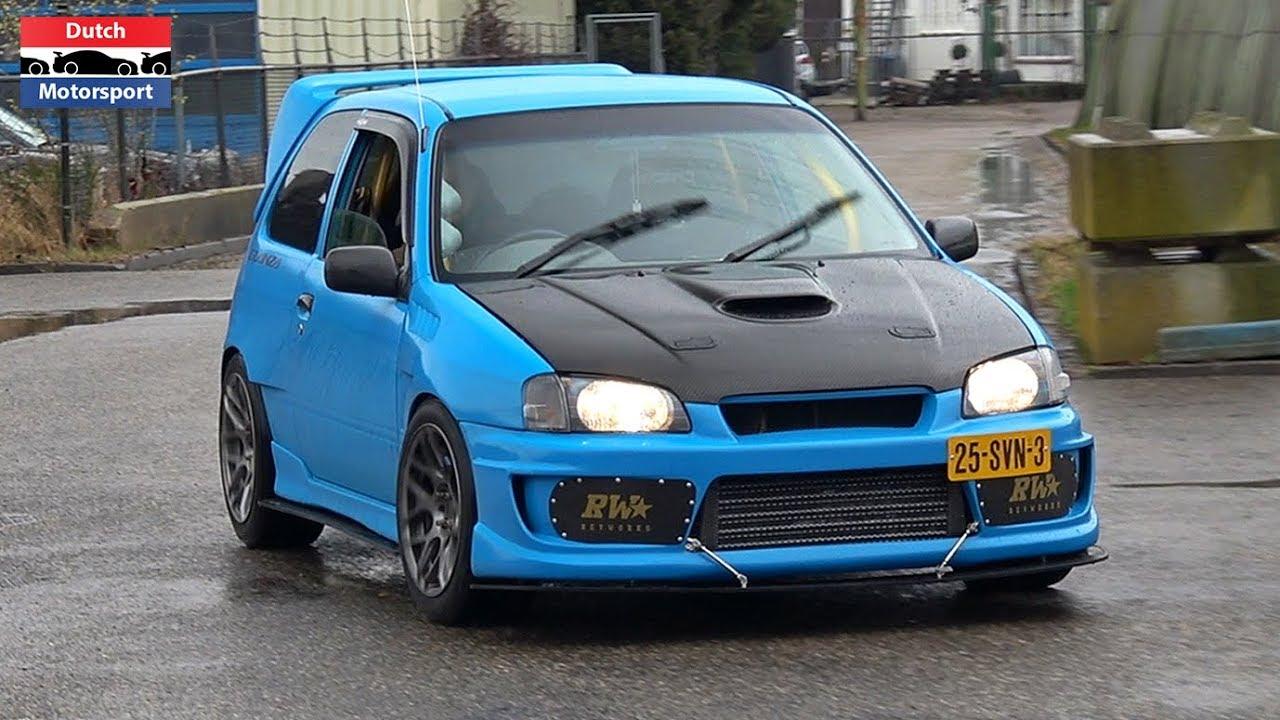 415HP Toyota Glanza V Turbo - Loud Accelerations ...