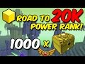 TROVE: Road to 20K PR | 1000 shadow air gem boxes [EP. 2]