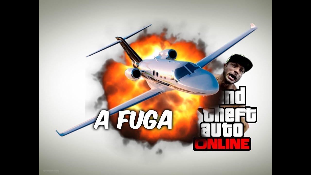 Curta metragem -  A fuga  (Grand Theft Auto V)