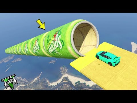 GTA 5 ONLINE 🐷 MEGA TUNNEL RARO !!! 🐷 GARE PARKOUR 🐷N*397🐷 GTA 5 ITA 🐷 DAJE !!! thumbnail