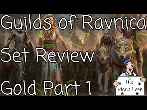 Guilds of Ravnica Limited Set Review: Gold Part 1 - The Mana Leek