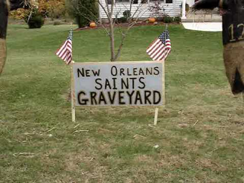 New Orleans Saints Graveyard for the Lions Eagles Bills Jets Giants