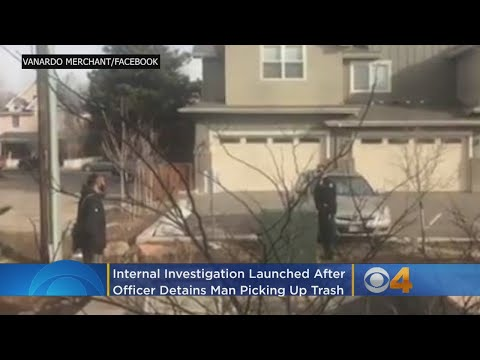 Internal Investigation Launched After Officer Detains Man Picking Up Trash Outside His Home – Local News Alerts