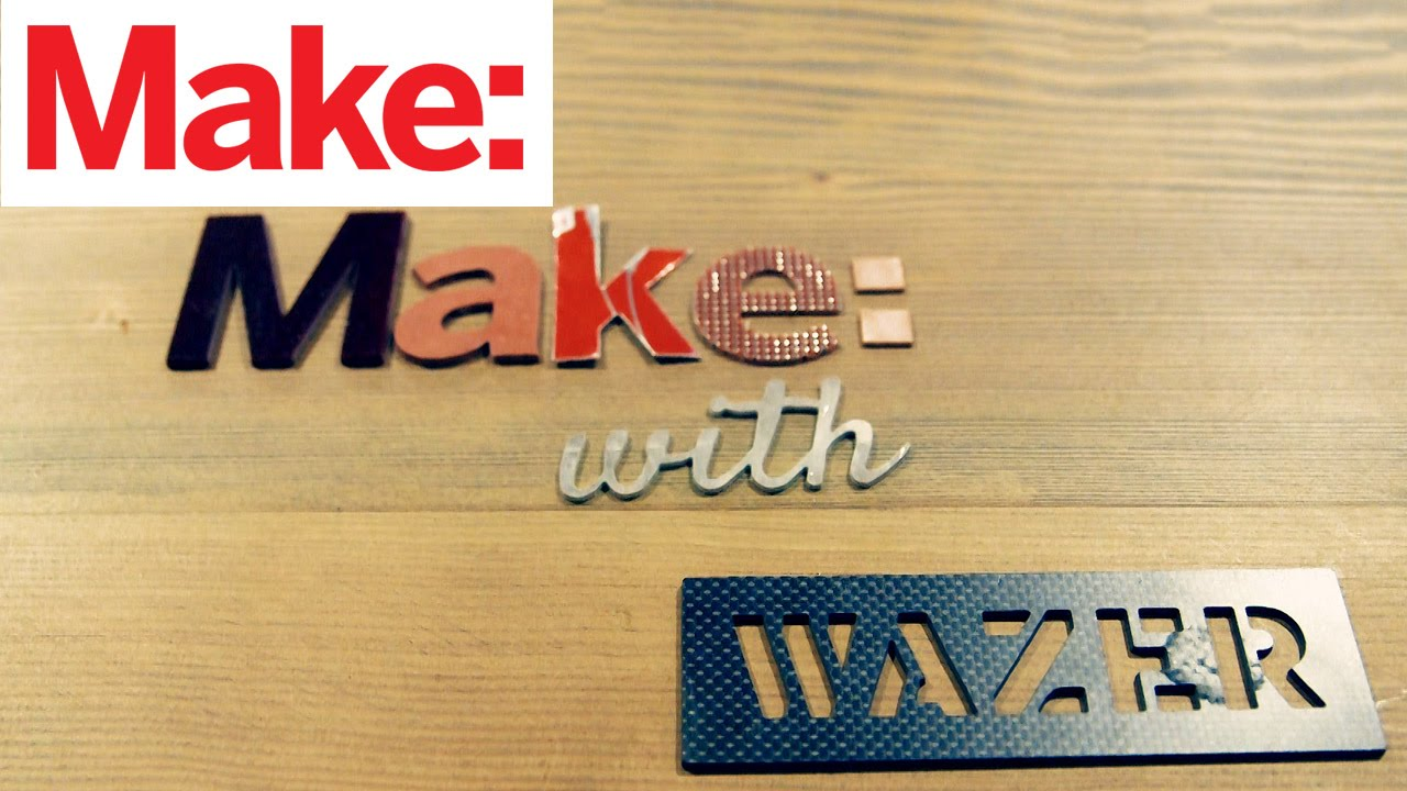 Desktop Waterjet Cutting Comes to Hobbyists With Wazer   Make: