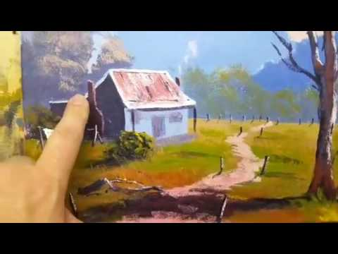 Acrylic Painting For Beginners - Learning To Paint Progressively