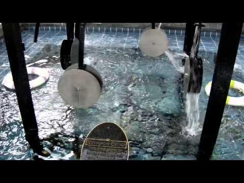 The Water Clock at Woodgrove Centre,Nanaimo BC ,Canada