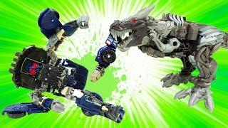 Трансформеры 5 РАСПАКОВКА: Динобот Гримлок в опасности! Игробой Адриан.