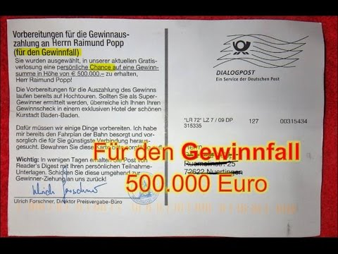 Krombacher 500.000 Euro