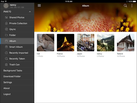 How to use Qphoto to manage and share photos - YouTube