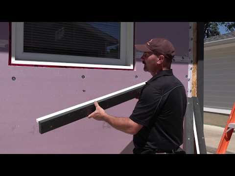 How I Make & Install Trim Around Windows After Exterior Styrofoam Insulation