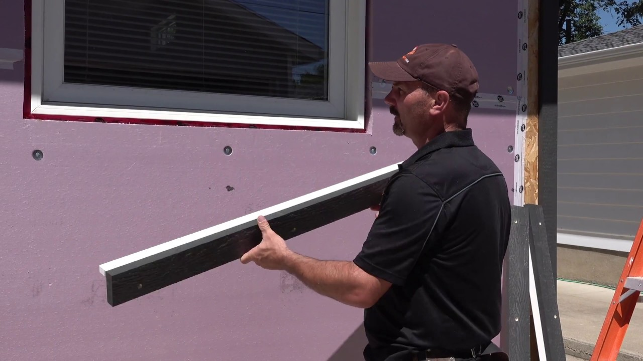 How I Make Install Trim Around Windows After Exterior Styrofoam